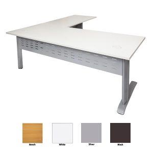 Rapid Span Desk with Return